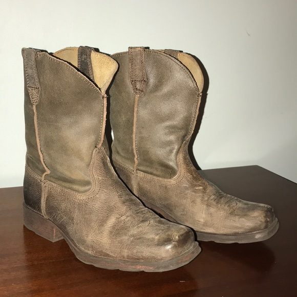954d23fdff3 ARIAT Rambler Leather Sole Western Boot